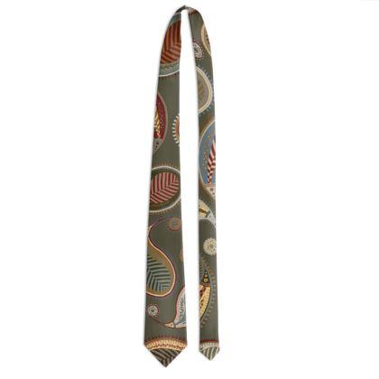 Paisley Heritage Collection (Sage) - Luxury Tie