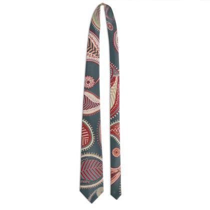 Paisley Heritage Collection (Petrol) - Luxury Tie