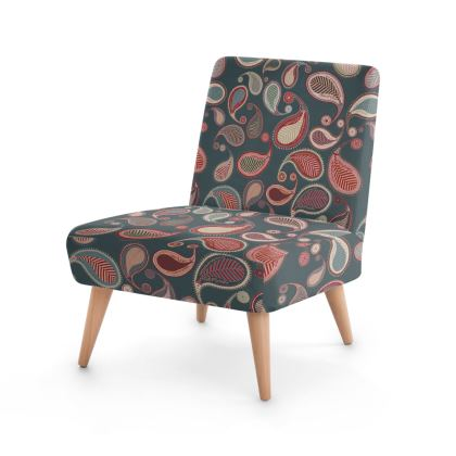 Paisley Heritage Collection (Petrol) - Luxury Occasional Chair