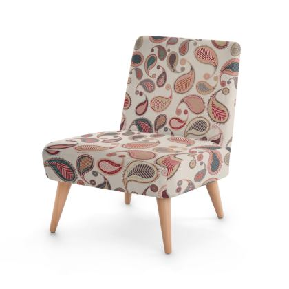 Paisley Heritage Collection (Stone) - Luxury Occasional Chair