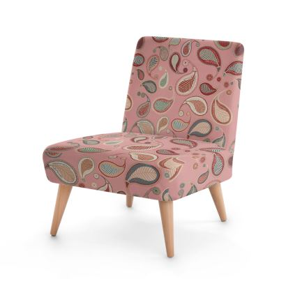 Paisley heritage Collection (Rose) - Luxury Occasional Chair