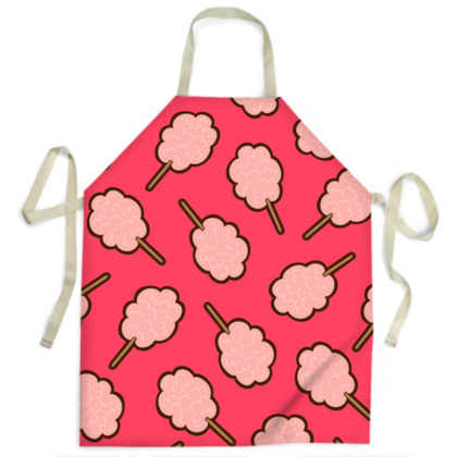 Cotton Candy Pattern Aprons