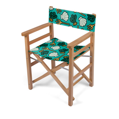 Under The Sea Pattern Directors Chair