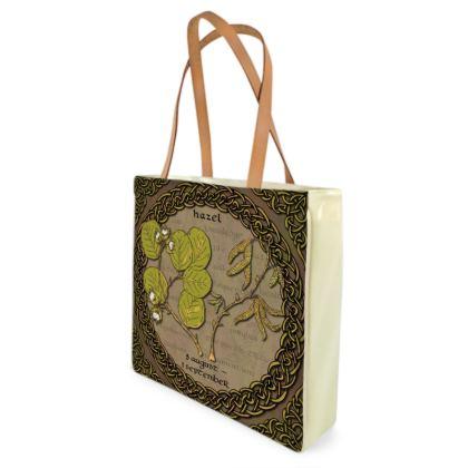 Tree Calendar Hazel Shopper Bag