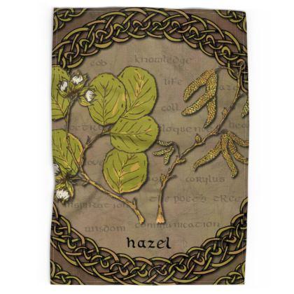 Celtic Hazel Tea Towel
