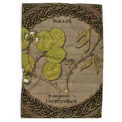 Tree Calendar Hazel Tea Towel