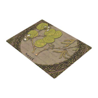 Celtic Hazel Glass Chopping Board