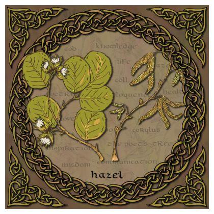 Celtic Hazel Coasters