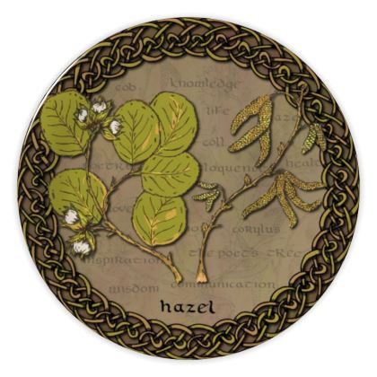 Celtic Hazel China Plate