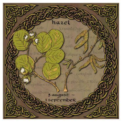 Tree Calendar Hazel China Plate