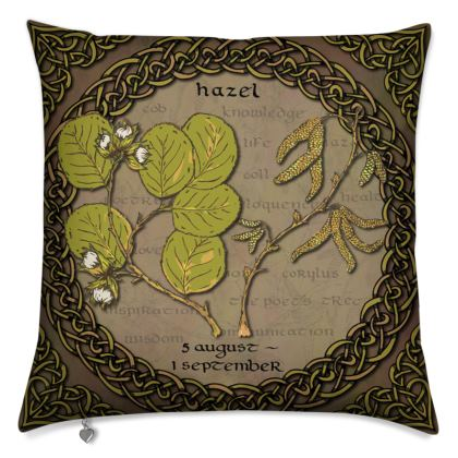 Tree Calendar Hazel Cushion