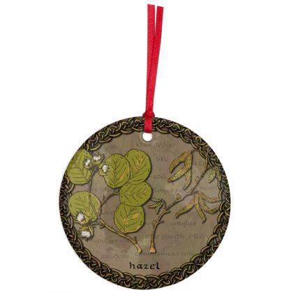Celtic Hazel Hanging Ornament