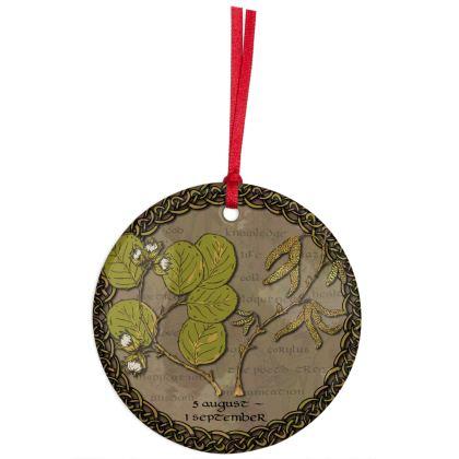 Tree Calendar Hazel Hanging Ornament