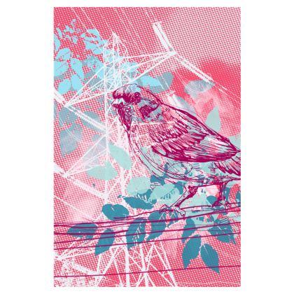 Flip Flops - Pink Birds