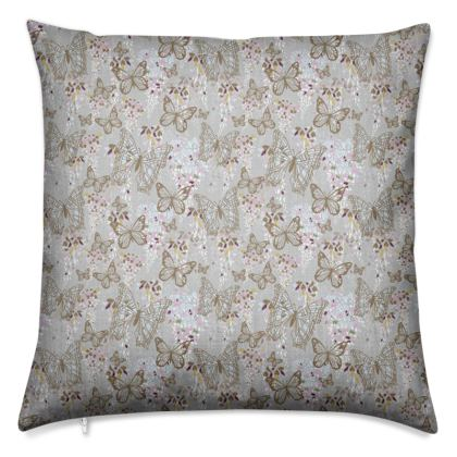 Wisteria Butterfly Collection (Small) - Luxury Cushion
