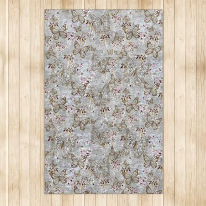 Wisteria Butterfly Collection (Small) - Luxury Rug (Large)