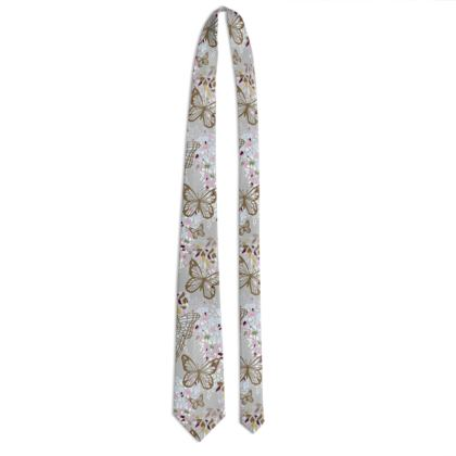 Wisteria Butterfly Collection - Luxury Tie