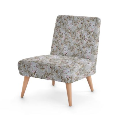 Wisteria Butterfly Collection (Small) - Luxury Occasional Chair