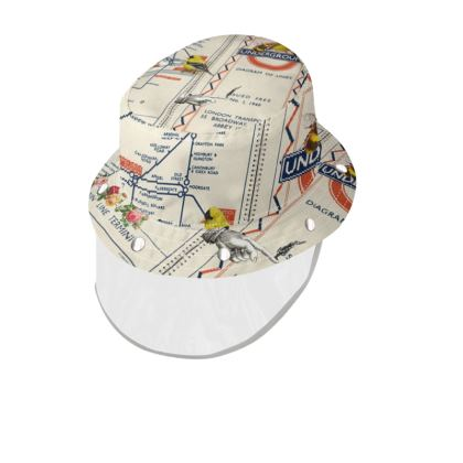 You Like This London Underground Bucket Hat with Visor