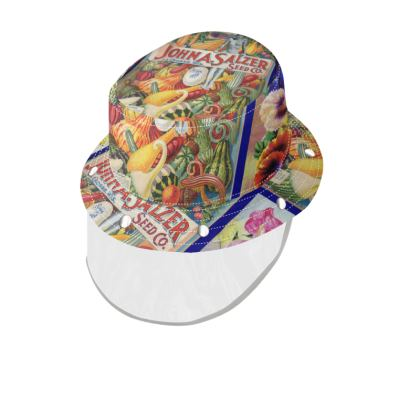 Seed Packets Bucket Hat with Visor