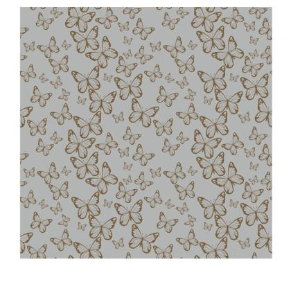 Wisteria Butterfly Collection (Gold) - Luxury Slip Dress