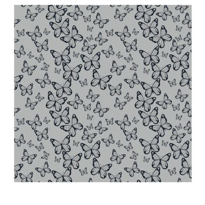 Wisteria Butterfly Collection (Navy) - Luxury Slip Dress