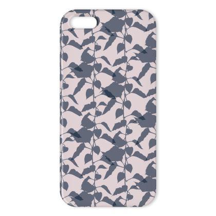 Japanese Lantern Collection (Pink/Grey) - Luxury iPhone X Case