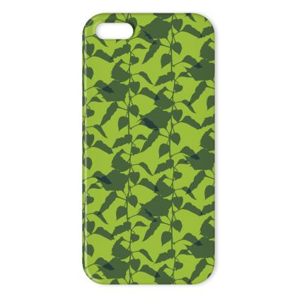 Japanese Lantern Collection (Green) - Luxury iPhone Case