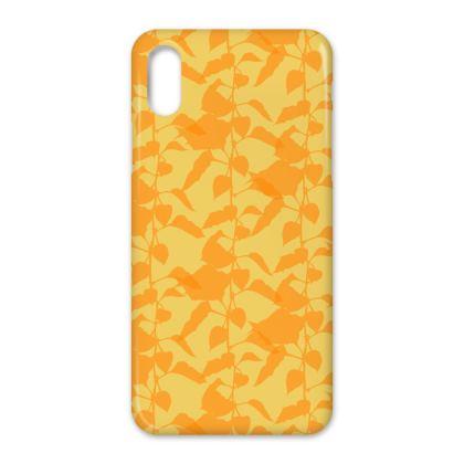 Japanese Lantern Collection (Yellow/Orange) - Luxury iPhone Case