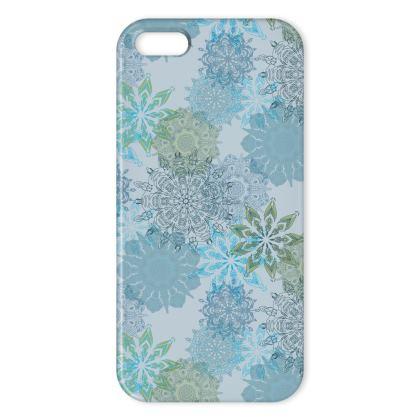 Mandala Dream (Blue) - Luxury iPhone X Case