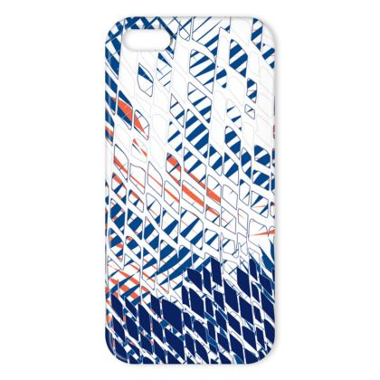 Threads Collection (Blue) - Luxury iPhone X Case