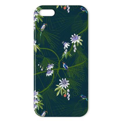 Paradise Kingfishers Collection - Luxury iPhone X case