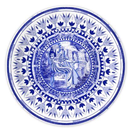 Egyptian White & Blue: NEFERTARI