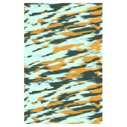 Shark Stripes Swim Shorts