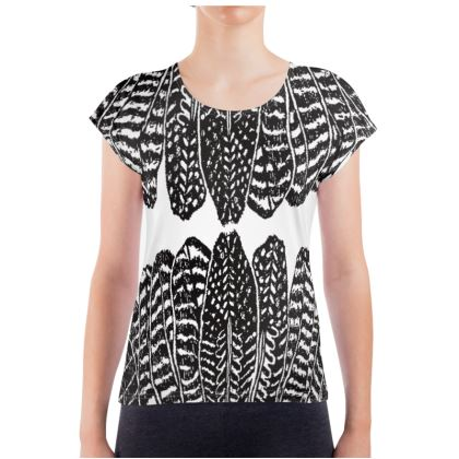 Tribal Feathers - Ladies T Shirt