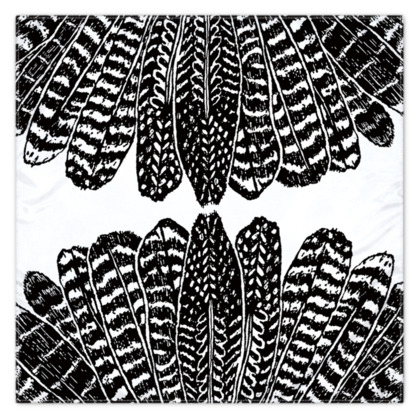 Tribal Feathers - Scarf Wrap or Shawl