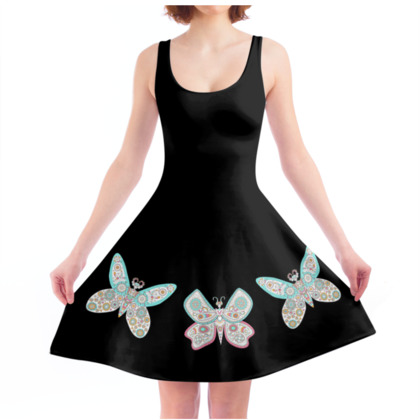 Butter Moth Skater Dress