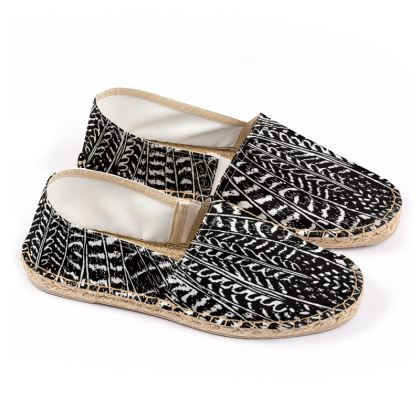 Tribal Feathers - Espadrilles