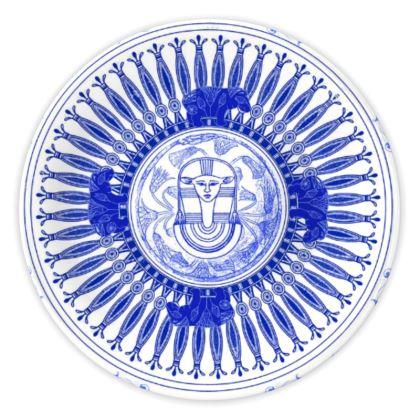 Egyptian White & Blue: GODDESS HATHOR