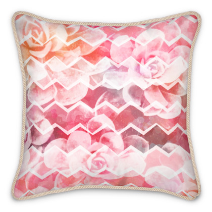 Desert Dreams, Blush - Silk Cushions