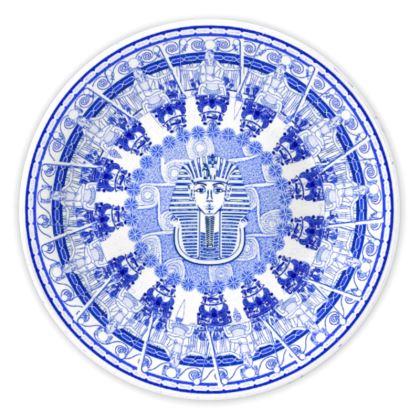 Egyptian White & Blue: KING TUT