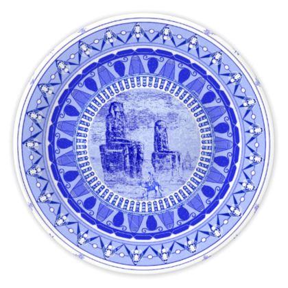 Egyptian White & Blue: THE COLOSSI OF MEMNON