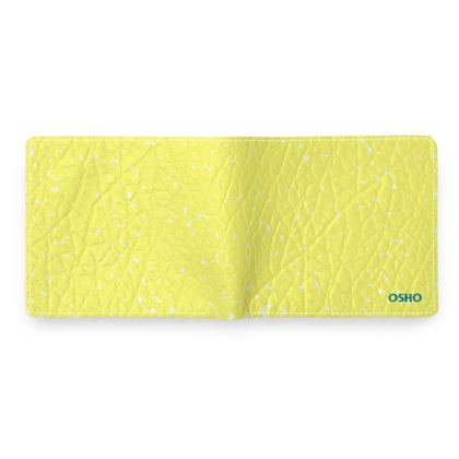 OSHO LEATHER WALLET