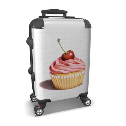 Pink Cupcake Suitcase