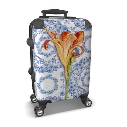 Blue Rhapsody Daylily Suitcase