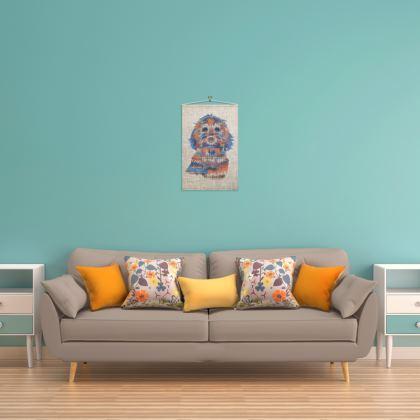 46 x 70cm Cockapoo wall hanging