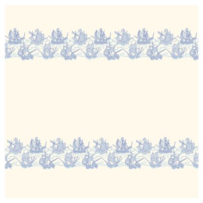 Blue Ships double-deckchair