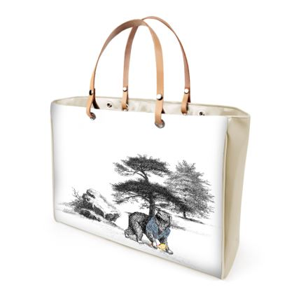 """Tote Shopper Bag - Limited Edition Hand Illustrated """"They Walk Amongst Us"""""""