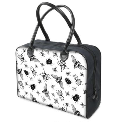 """Weekend Travel Bag - Limited Edition """" Buzzing Around"""" Print"""