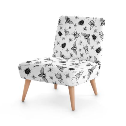 """Occasion Chair - Limited Edition """"Buzzing Around"""" Print"""